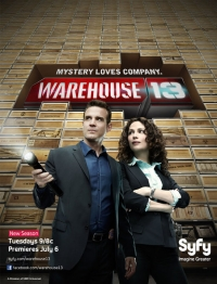 Сериал Хранилище 13/Warehouse 13  2 сезон онлайн