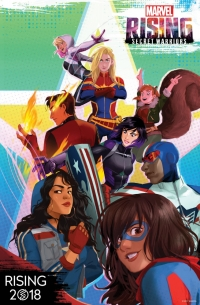 Сериал Восход Marvel: Тайные воины/Marvel Rising: Secret Warriors  1 сезон онлайн