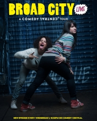 Сериал Брод Сити/Broad City  3 сезон онлайн