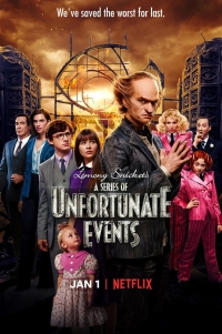 Сериал Лемони Сникет: 33 несчастья/A Series of Unfortunate Events  3 сезон онлайн